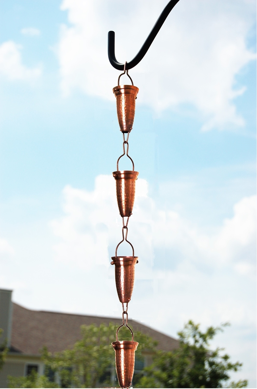 Picture of #786/231 Stamped Cup Rain Chain