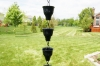 Picture of U-nitt Rain Chain Aluminum: flower embossed 8 - 1/2 ft #5502A