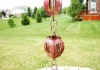 Picture of U-nitt pure Copper Rain Chain: slotted drum 8 - 1/2 ft #8563