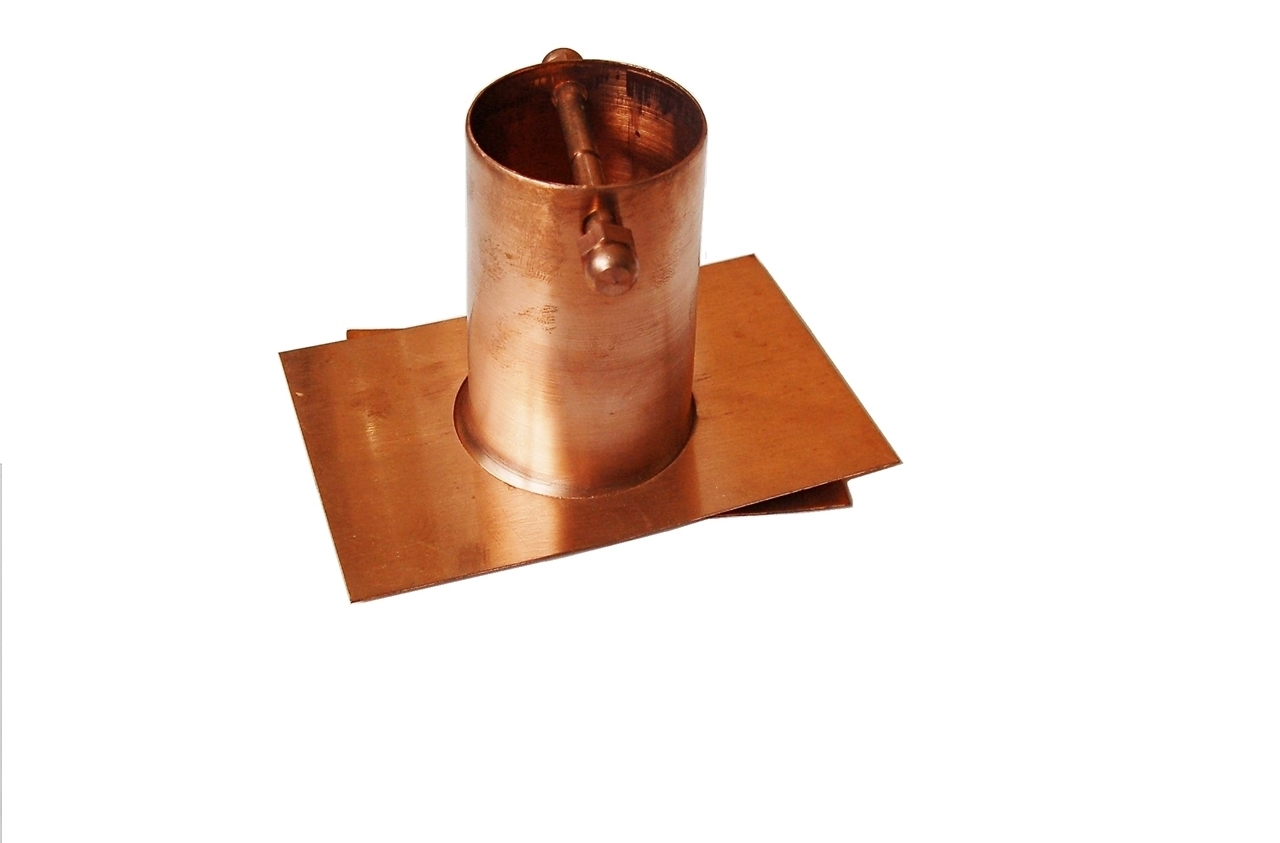 Picture of U-nitt Pure Copper Gutter Adapter / Installer for Rain Chain #975