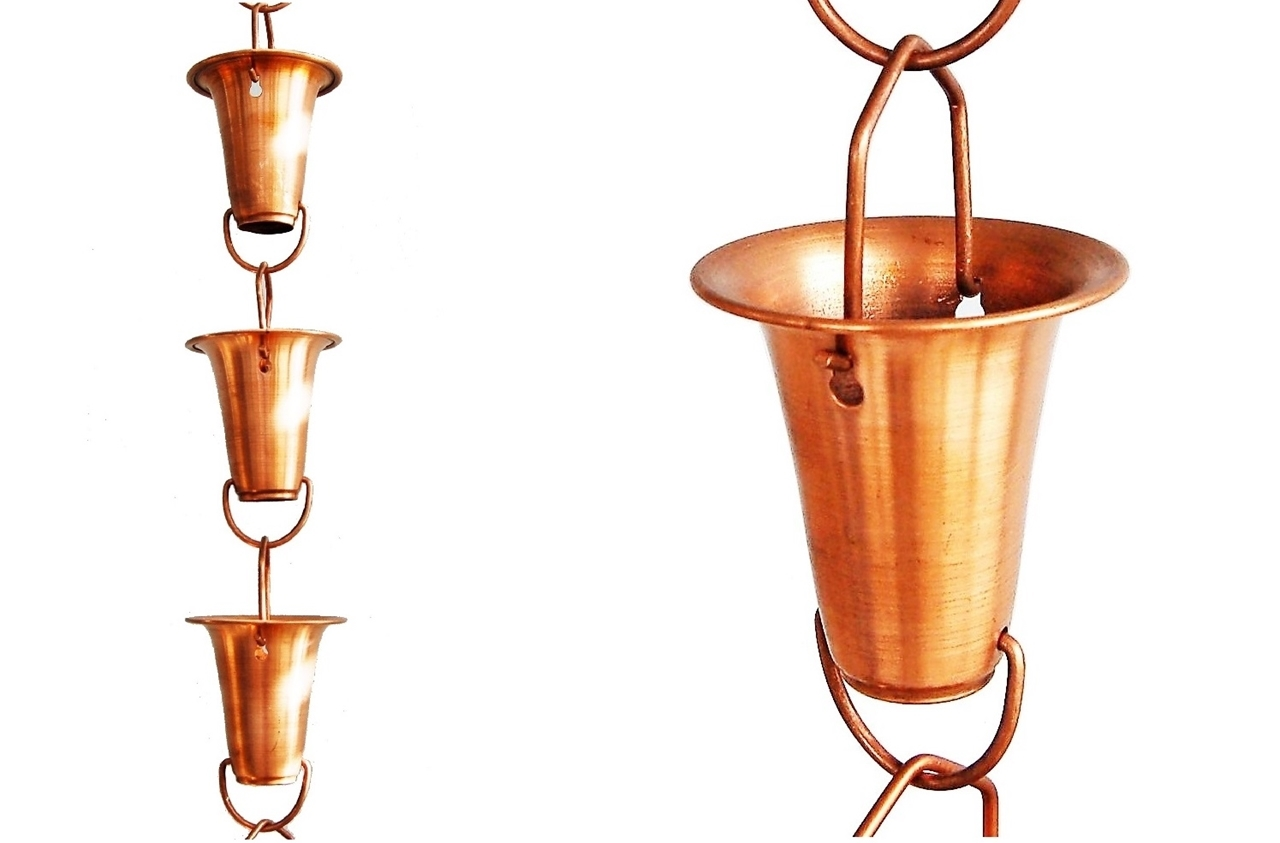 Picture of U-nitt #7227 Bell Cup Rain Chain