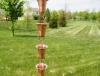 Picture of U-nitt pure Copper Rain Chain: bell cup 8 - 1/2 ft #7227